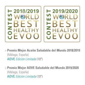 Premio AOVE mas saludable del mundo Edicion Limitada Ecoprolive